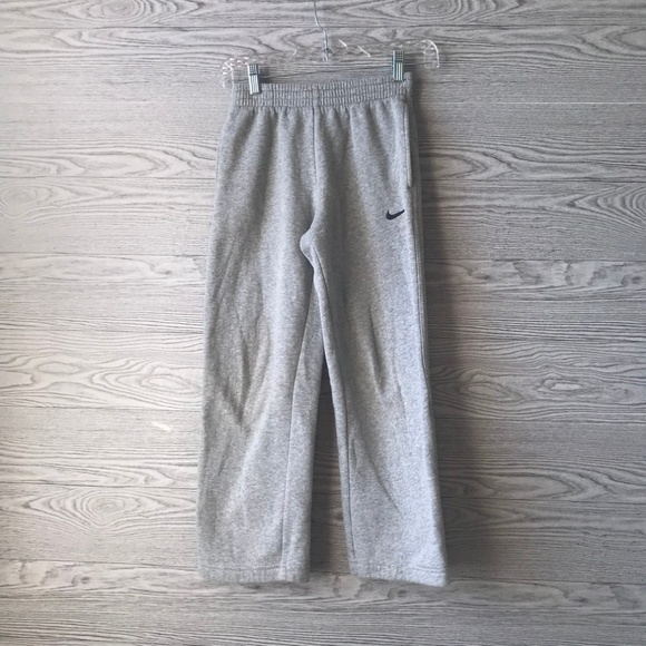 Nike Other - Nike Grey & Black Boys Sweatpants